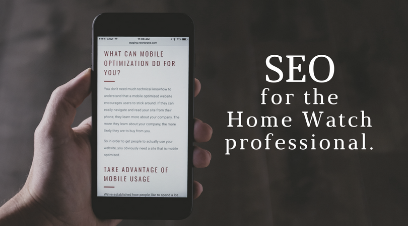 SEO For Home Watch