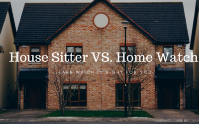 House Sitter Vs. Home Watch Company